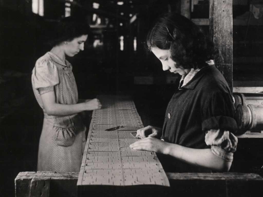 tessitrici foto epoca