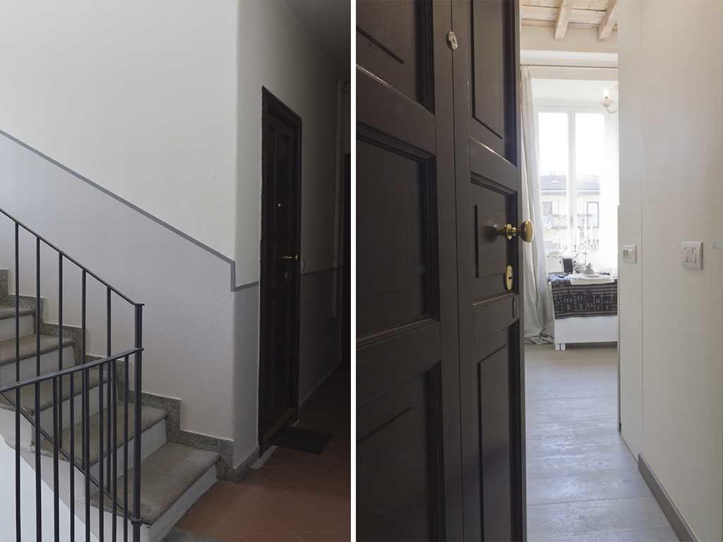 scale porta ingresso casa