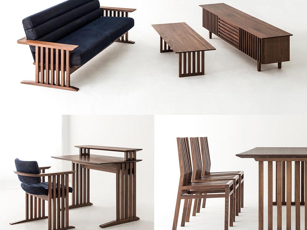 mobili legno giappone