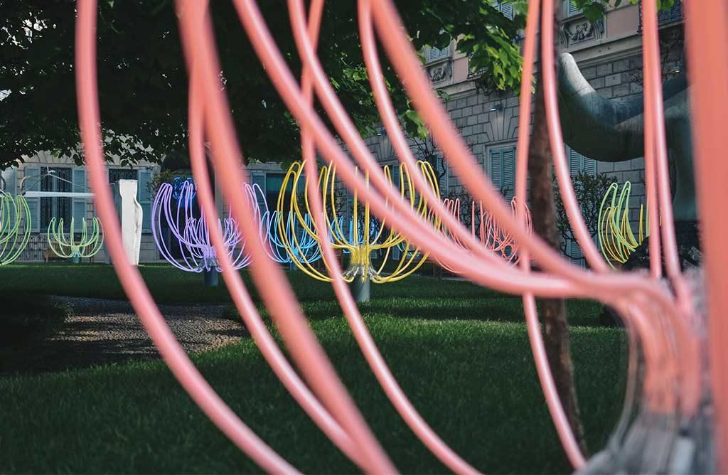 installazione arte neon milano