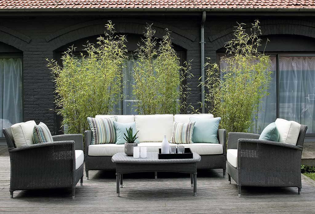 poltrone e divano da esterno