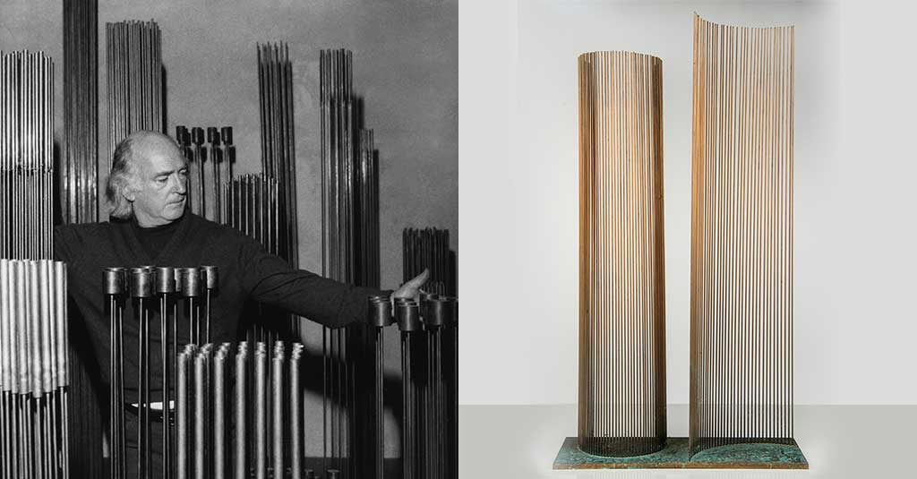 sculture sonore harry bertoia