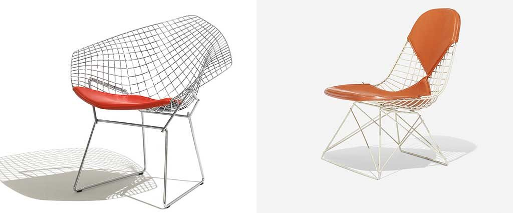 lounge chair e sedia metallo