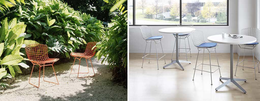 sedie outdoor giardino acciaio