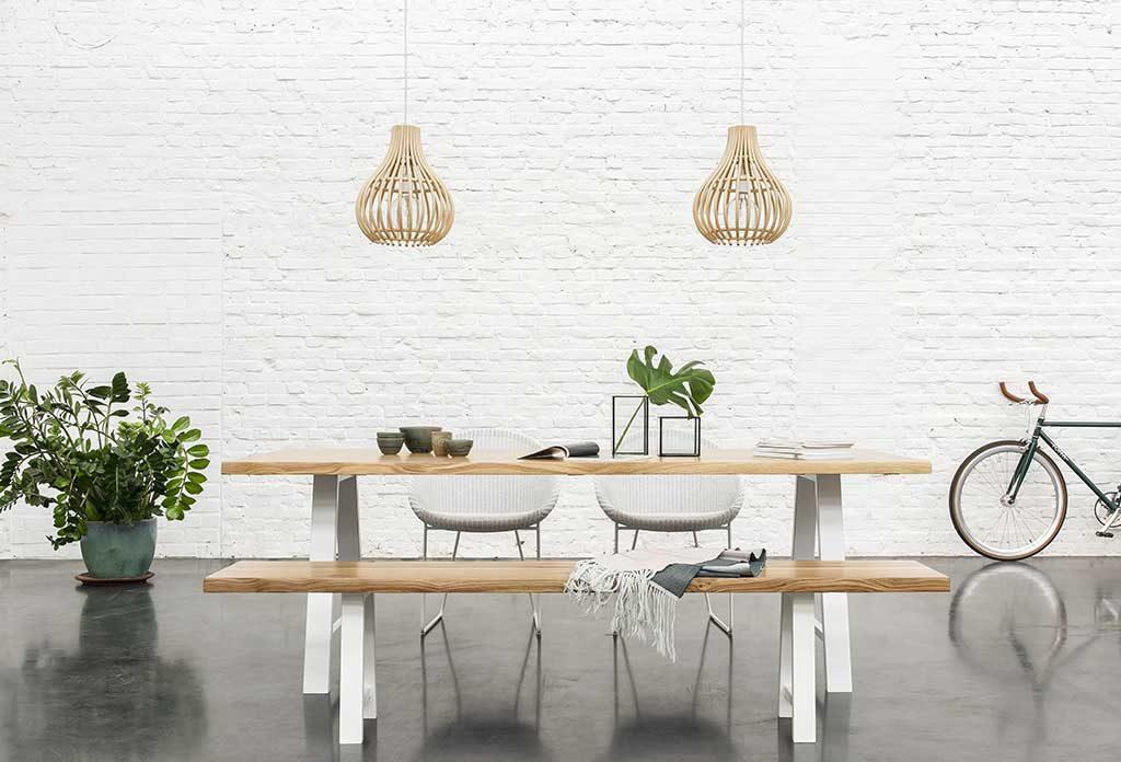 tavolo da esterno panche legno