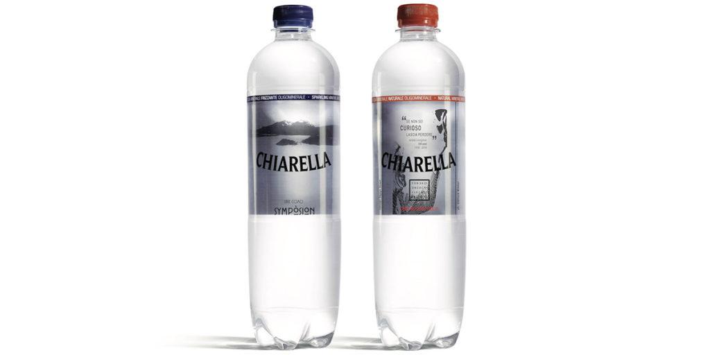 bottigliette acqua minerale castiglioni