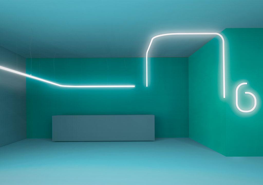luci led parete