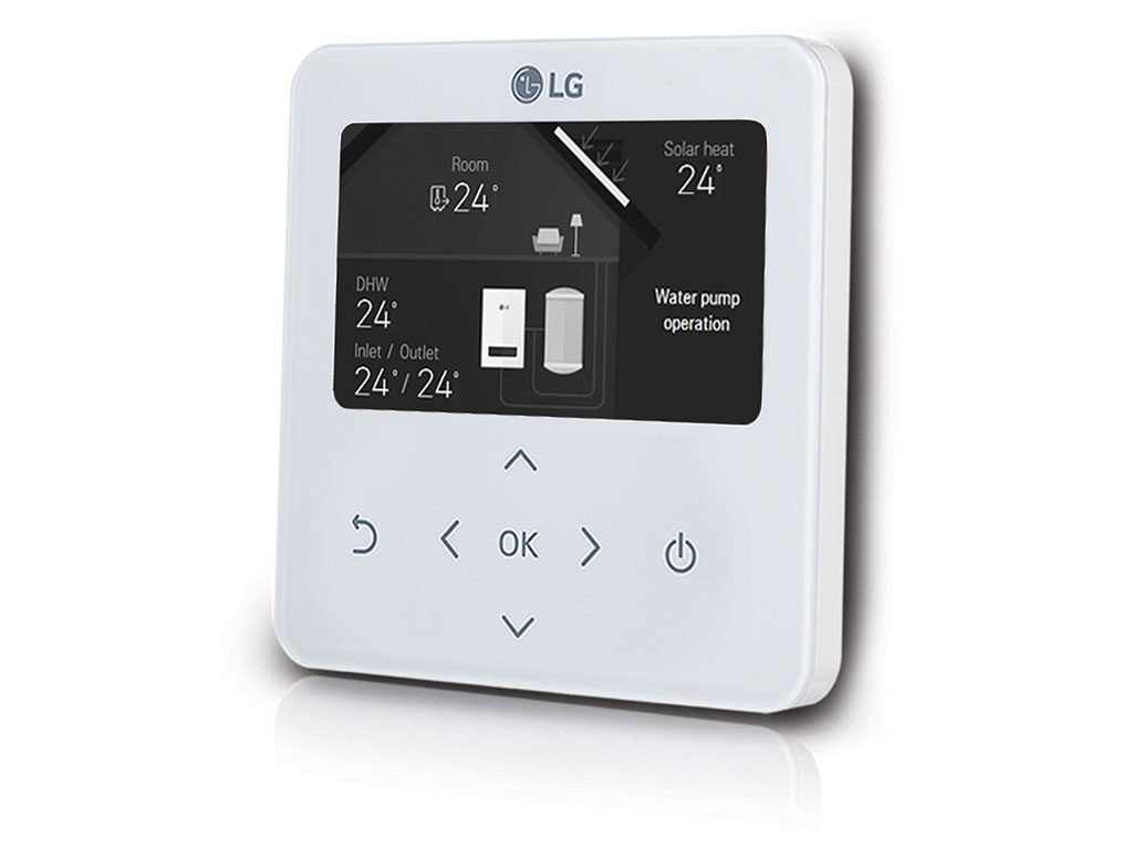 comando termostato touch