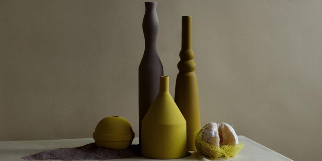 morandine ceramiche giallo