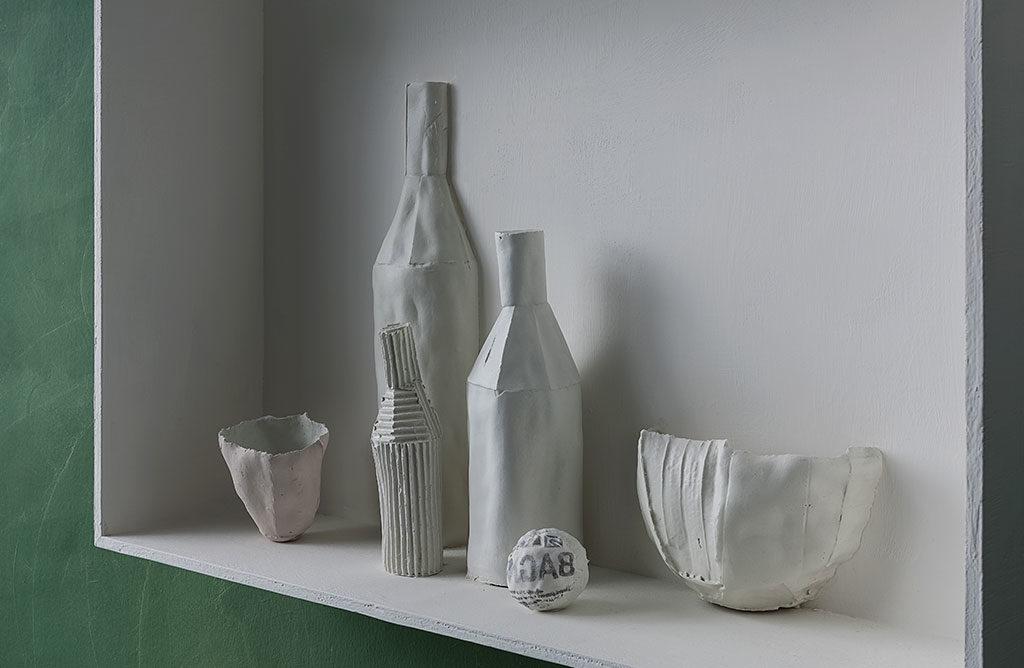 pannello mensola ceramica parete