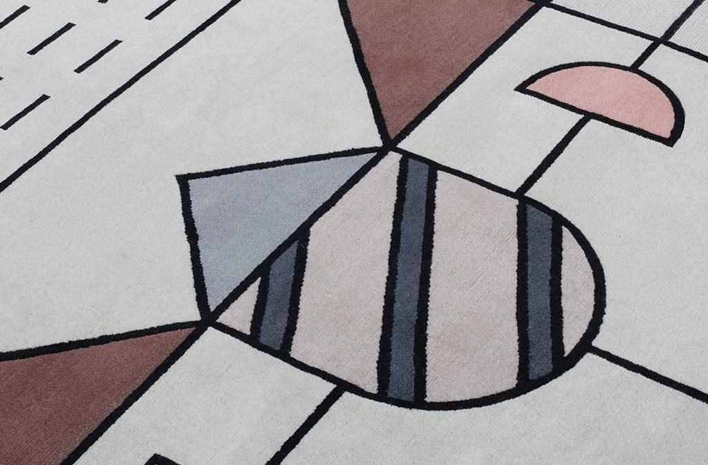 particolare tappeto cartesio