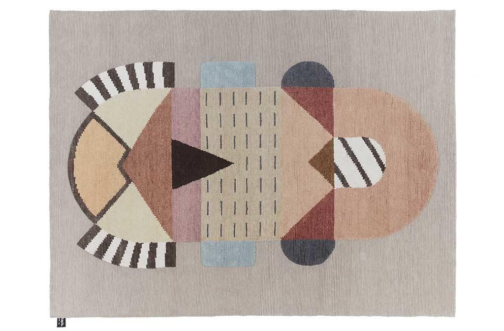 tappeto tessuto design