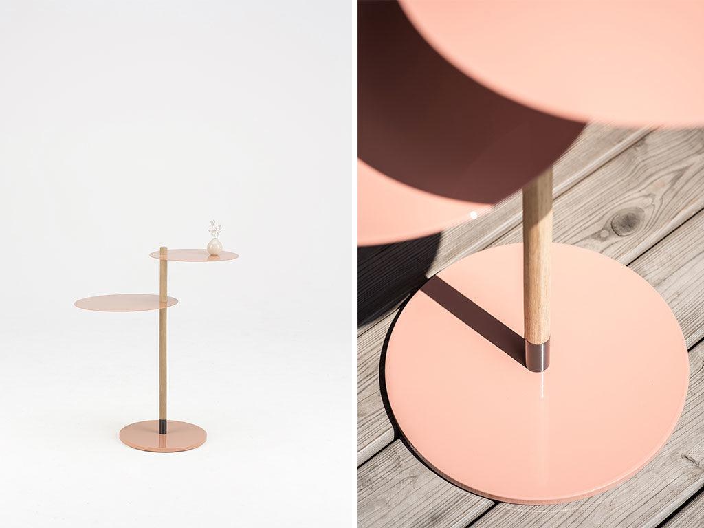 tavolino a due piani
