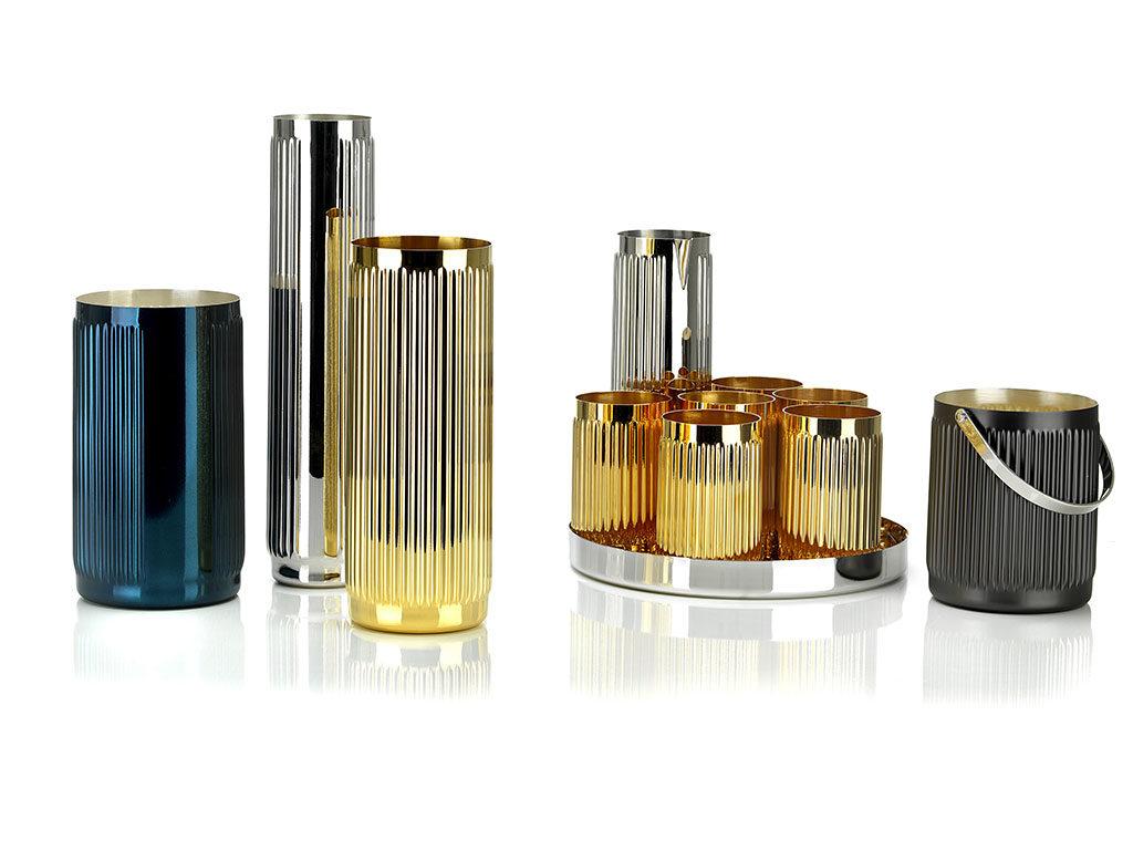 vasi e contenitori argento colore