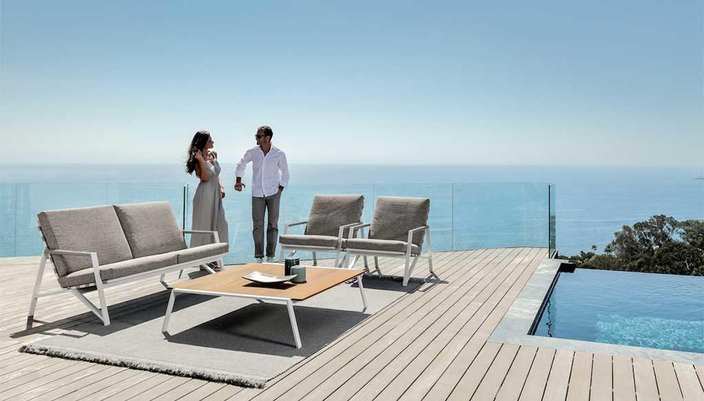 sedie poltrone esterno piscina