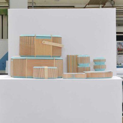 contenitori legno riutilizzo scarti