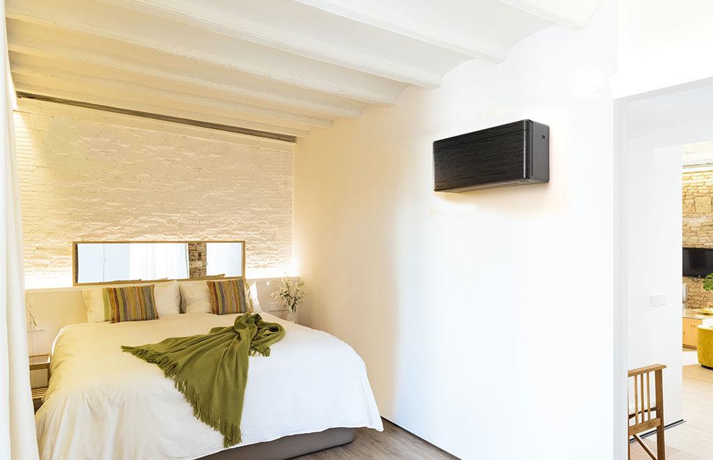 condizionatore parete camera da letto