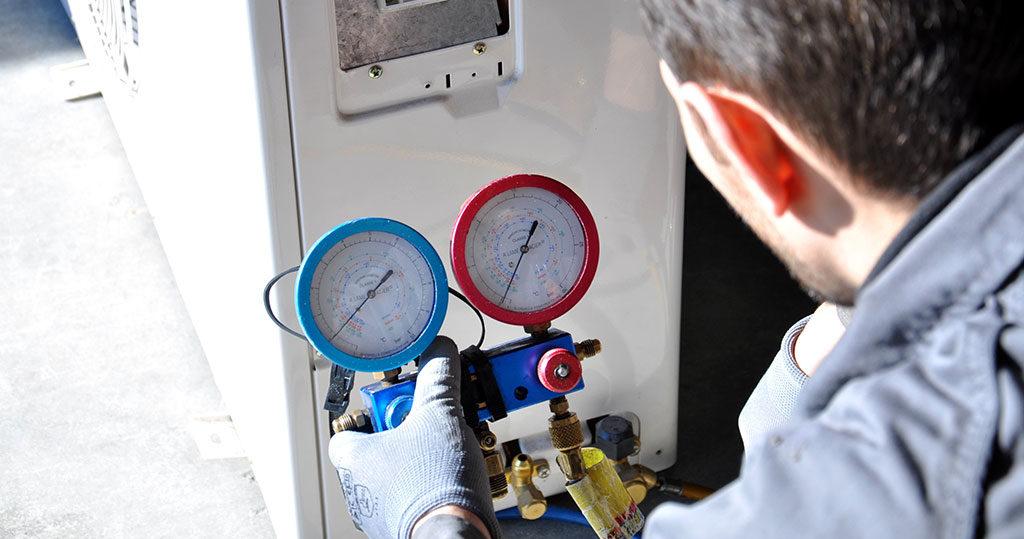 controllo gas climatizzatore