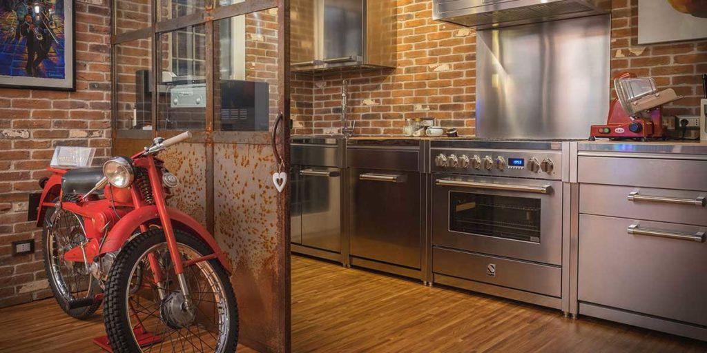 cucina acciaio inox professionale