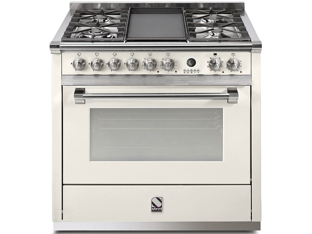 cucina gas smaltata ascot