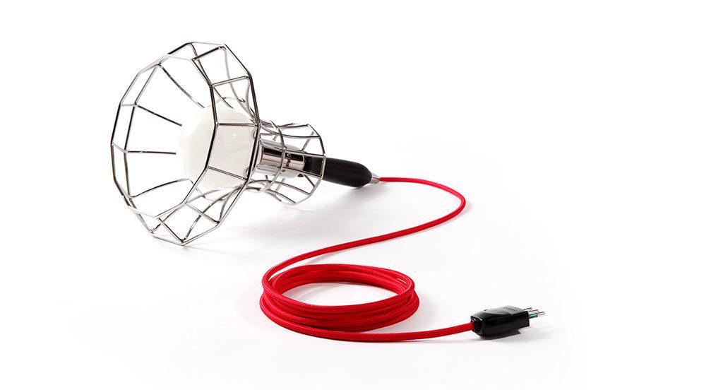 lampada da appoggio metallo