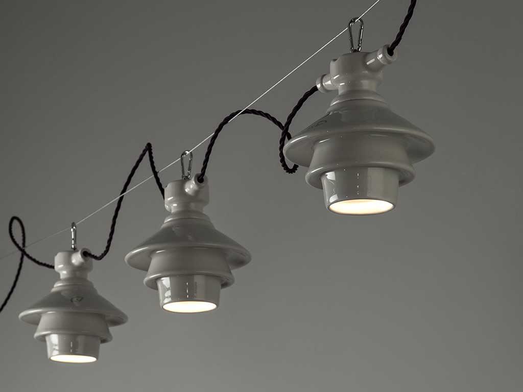 lampada sospensione ceramica