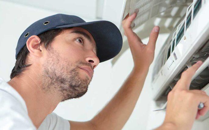 pulizia filtri climatizzatore
