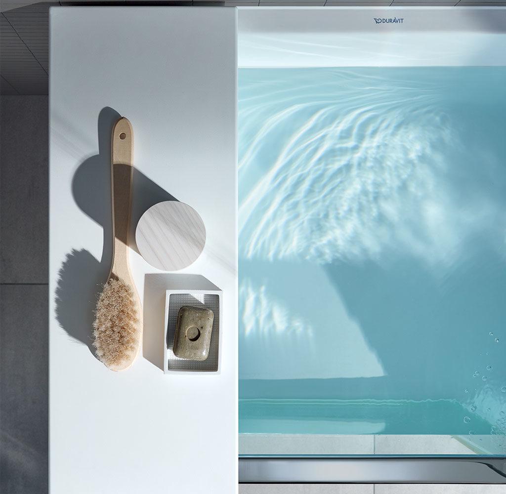 vasca da bagno mensola bordi