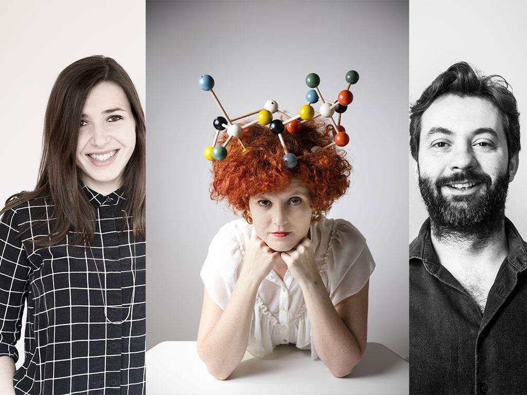 ritratto tre designer