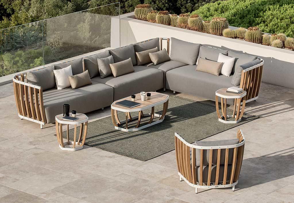 divano outdoor modulare