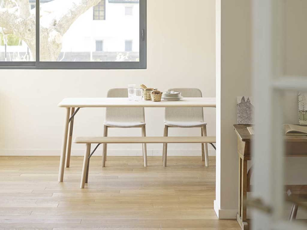tavolo legno con panche