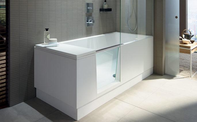 vasca da bagno sportello