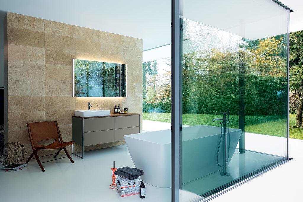 bagno vasca doppio lavabo
