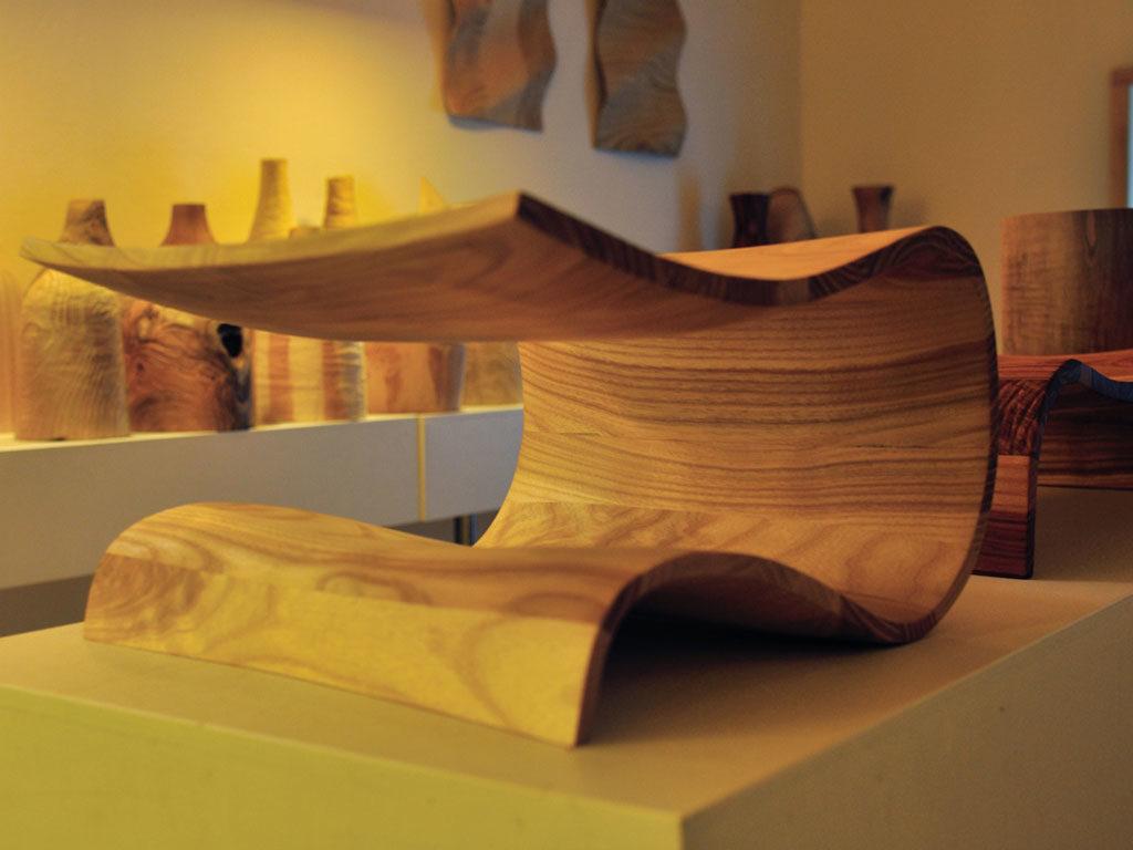 centrotavola legno fatto a mano