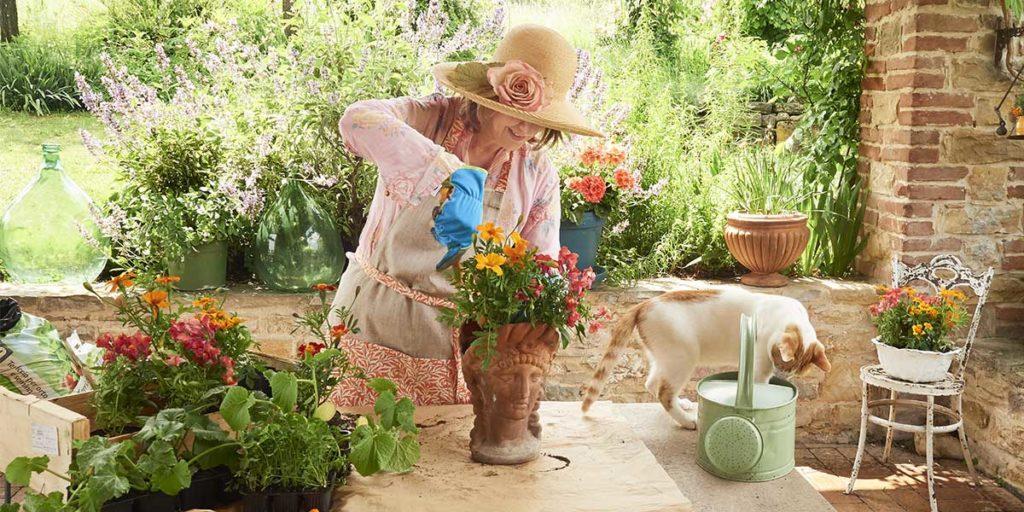 lavori orto giardino primavera