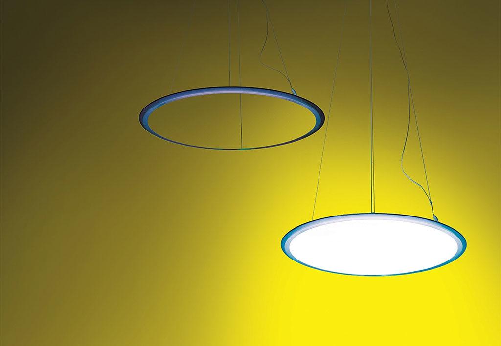 lampada sospensione cerchio