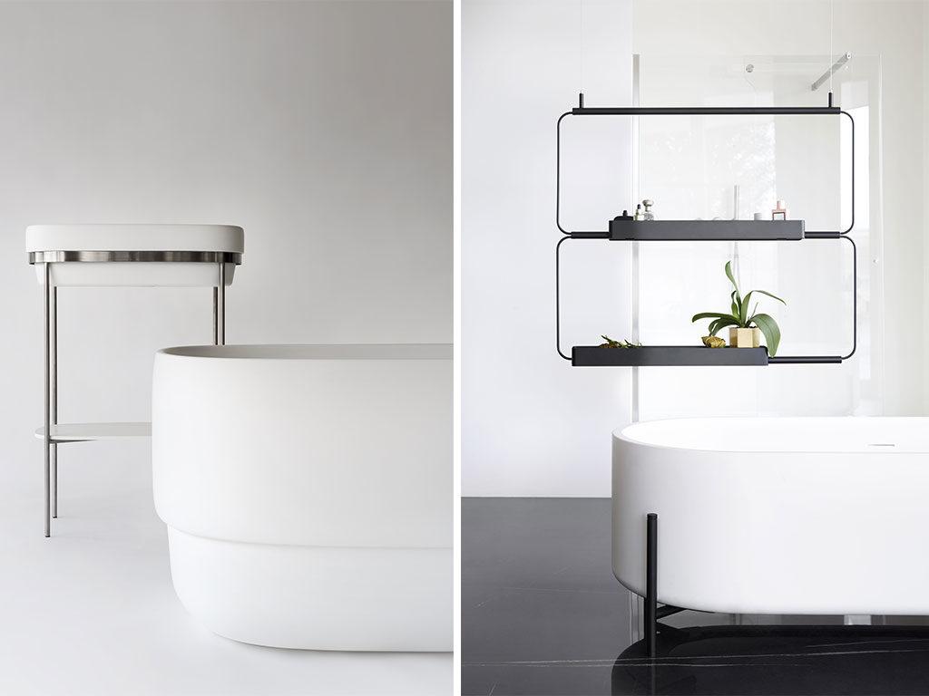 lavabo consolle e vasca
