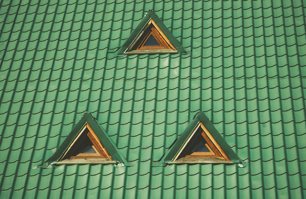 tetto verde lucernari