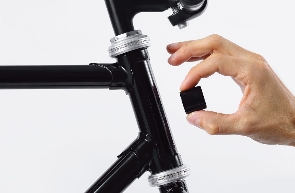 luce bicicletta magnetica
