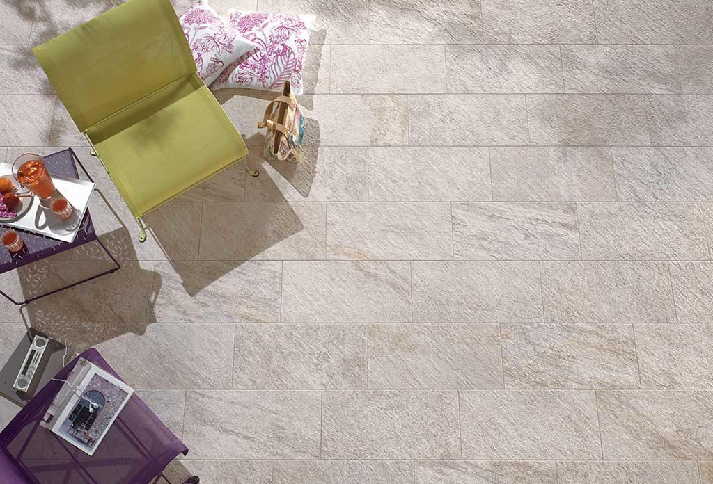 pavimento effetto pietra naturale