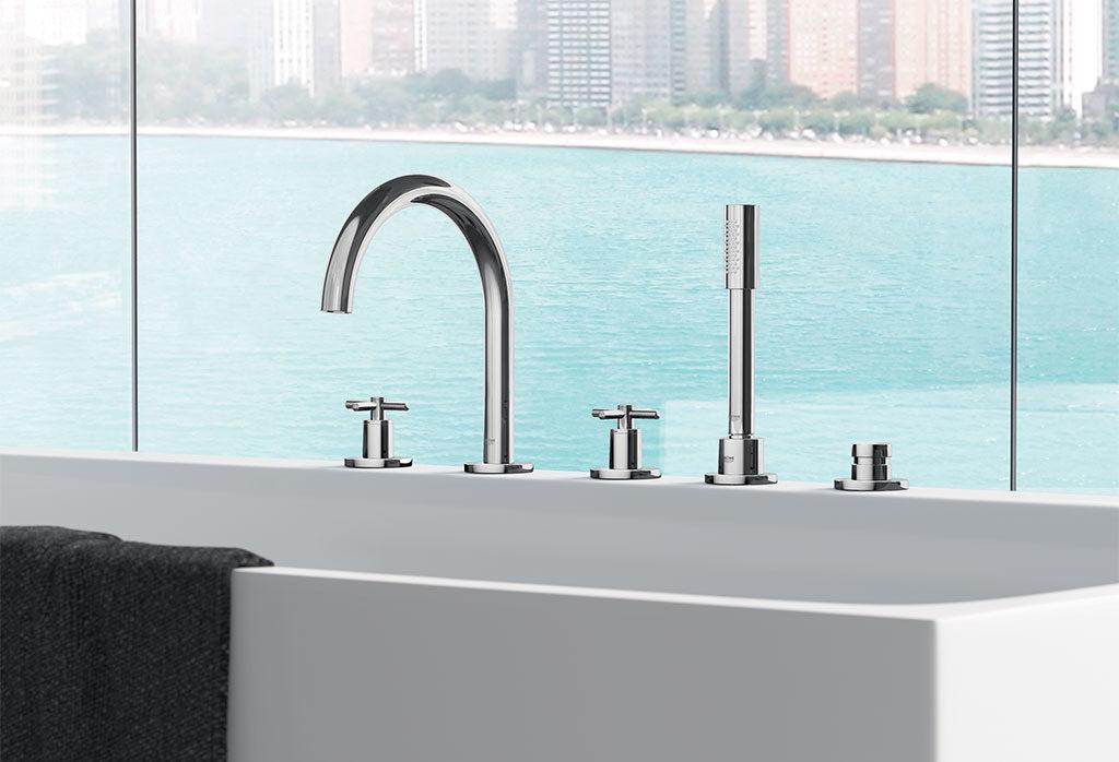 rubinetteria per vasca