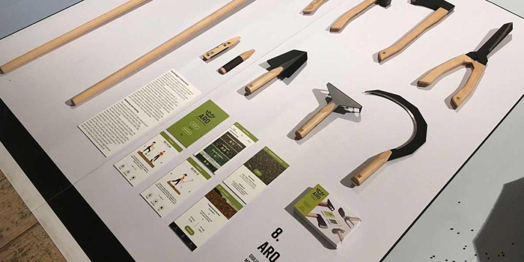 attrezzi giardino di design