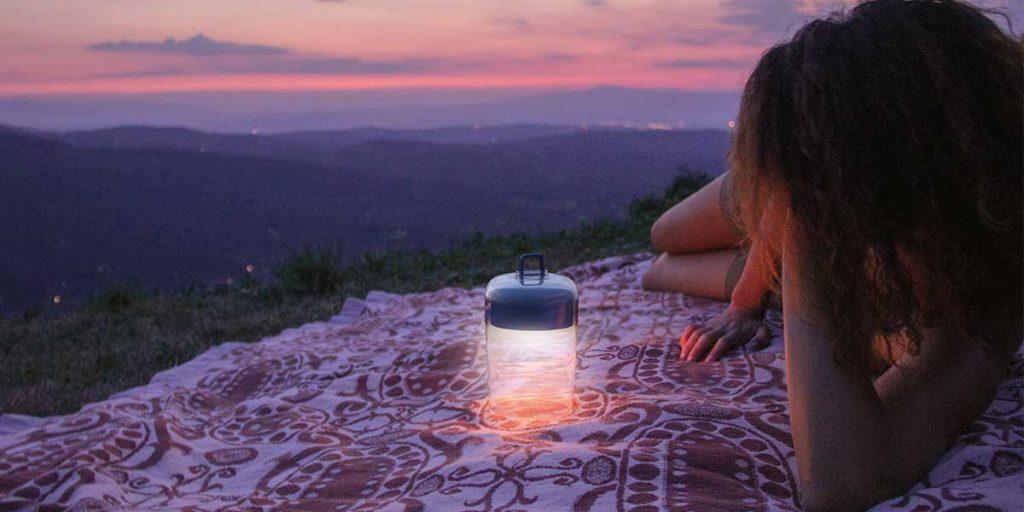 lampada wireless tramonto