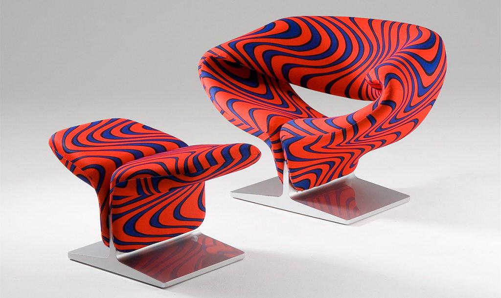 ribbon chair pierre paulin