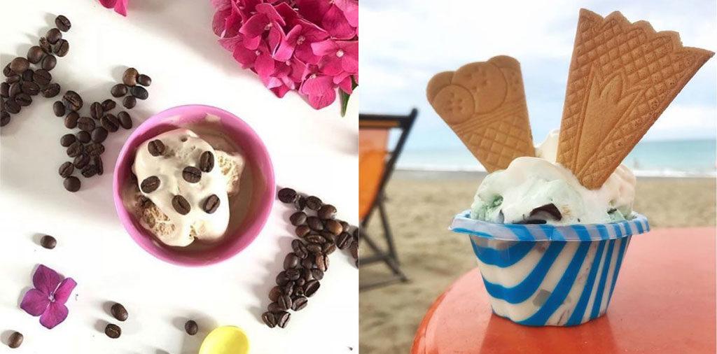 coppette gelato scatto blogger