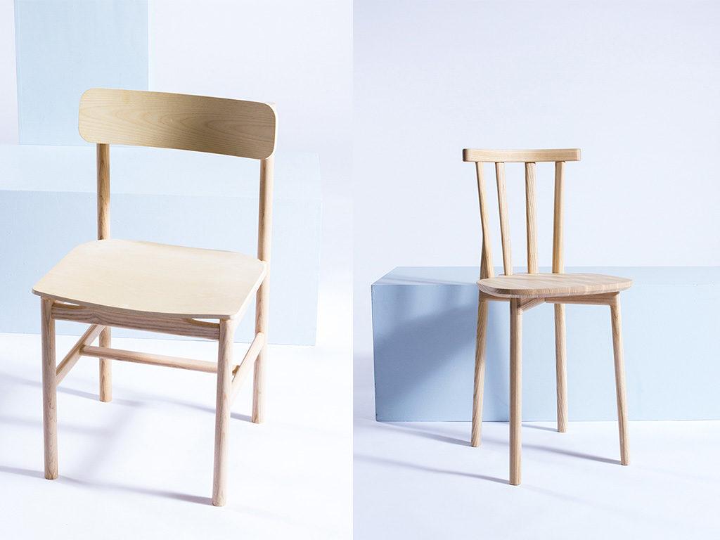 sedie legno design fatto a mano