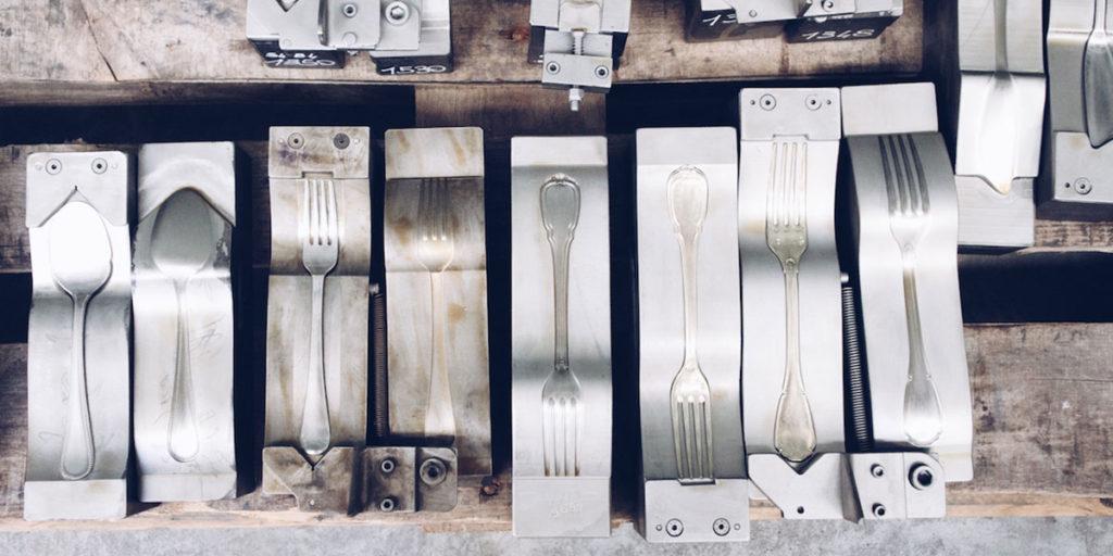 stampi posate forchetta coltello