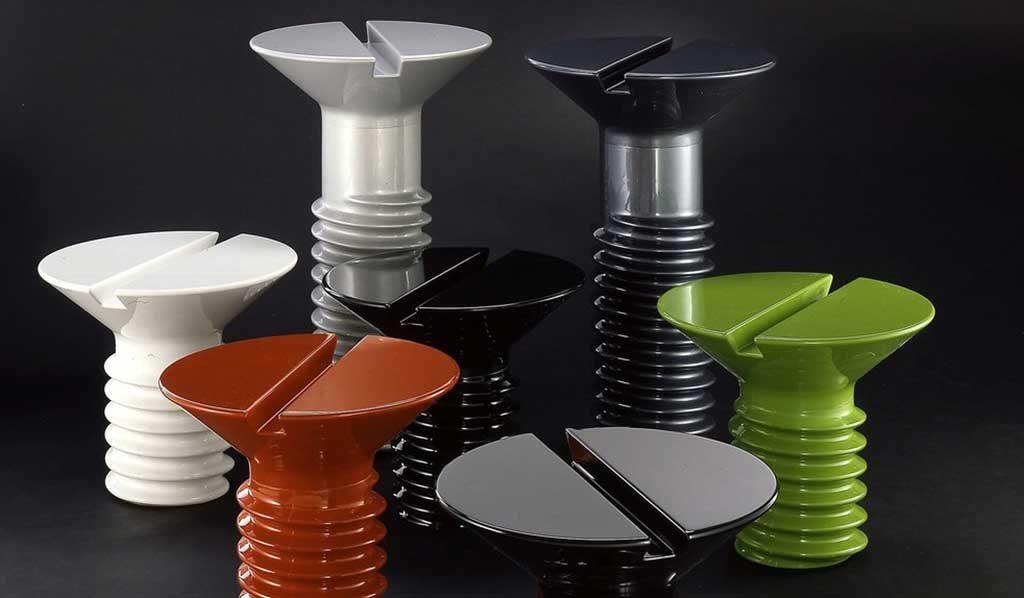 tavolini vite gigante plastica