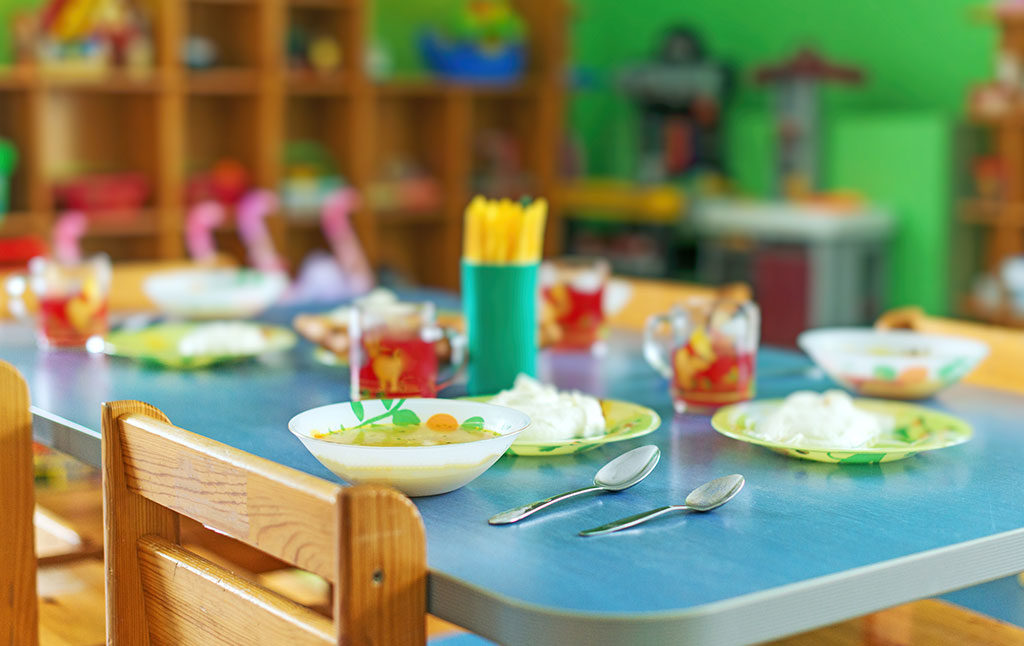 tavolo pranzo per i piccoli