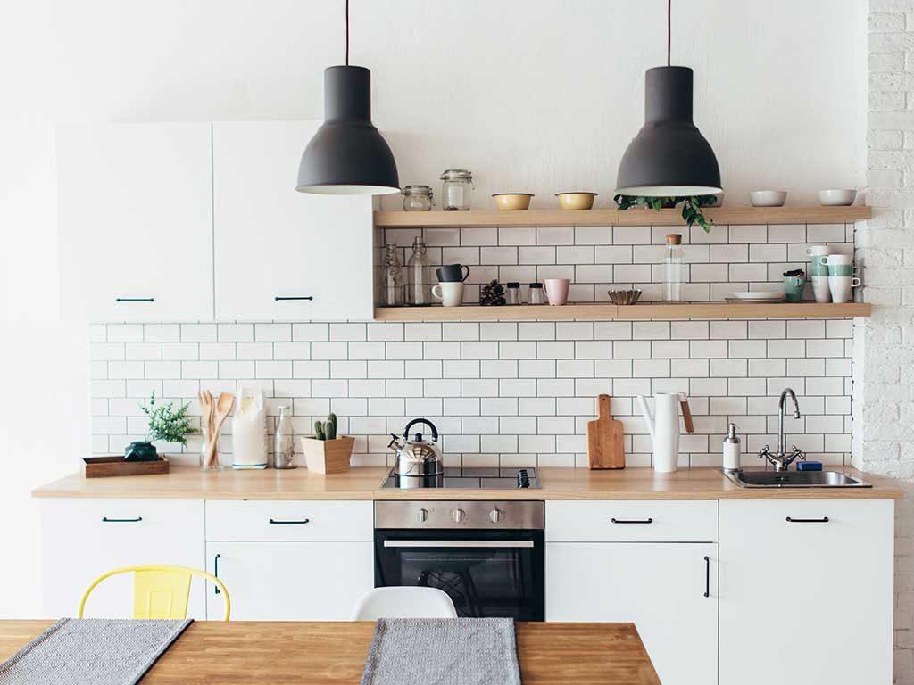 cucina moderna stile nordico